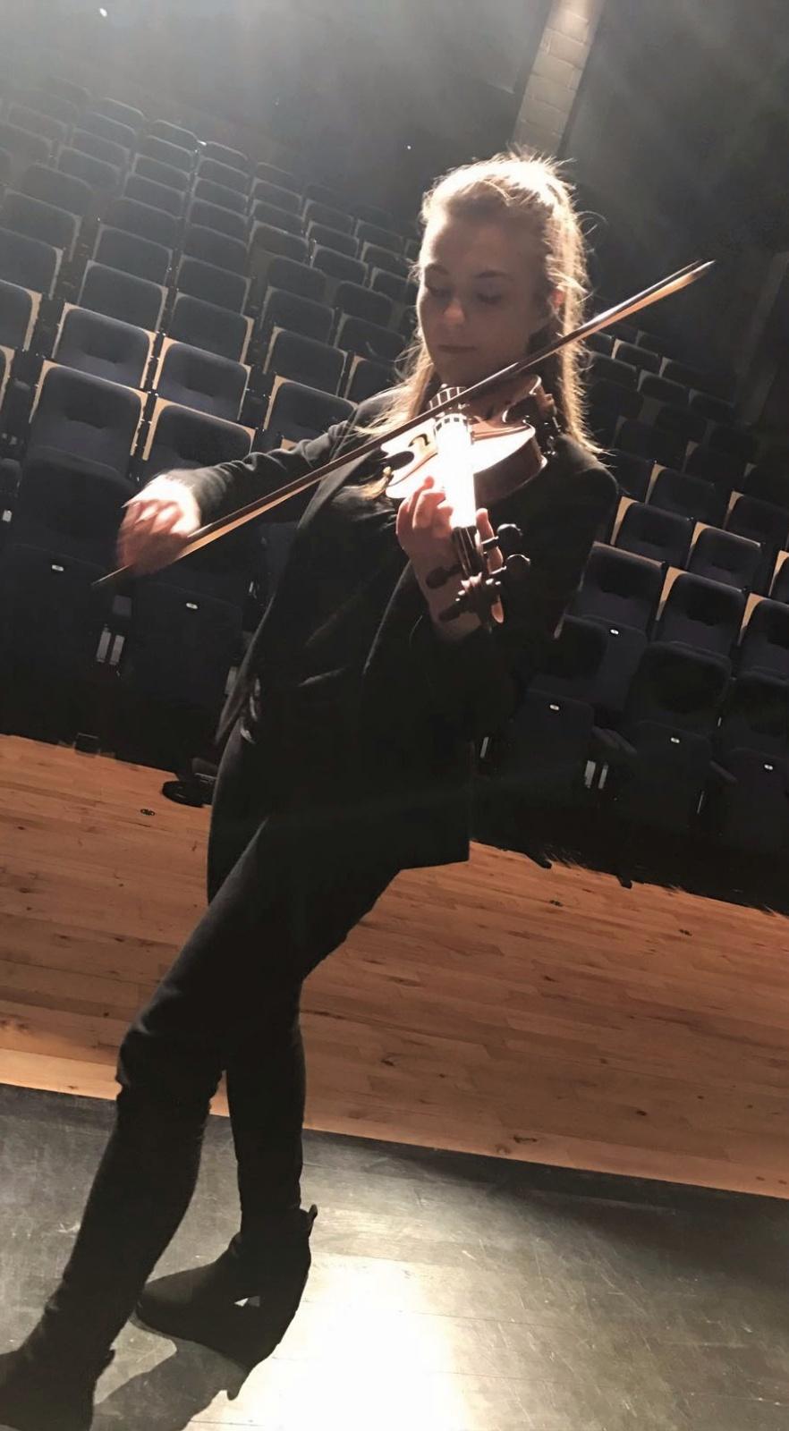 Eloise Audiovisability Rehearsal