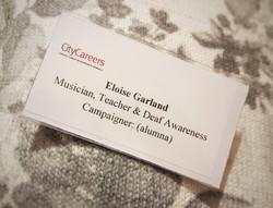 Eloise Garland: City Careers