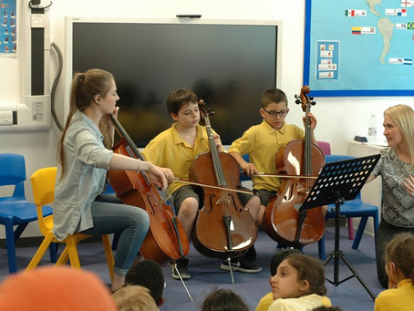 Music of Life: Music for Deaf Children in London