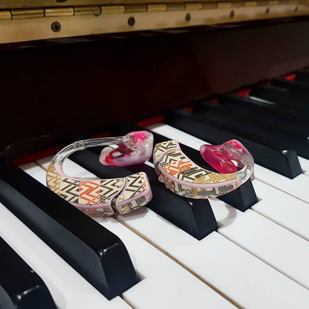 Hearing Aids on Piano
