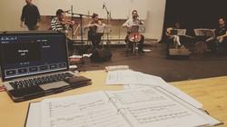 Rehearsals for 'The Unheard World'