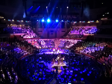 Frank Barnes School Children Perform at the Royal Albert Hall