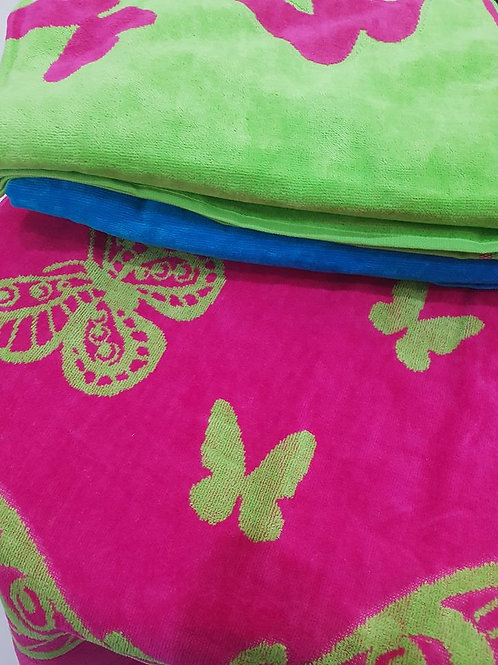 BUTTERFLY Jacquare Towel