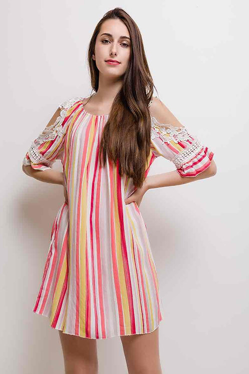 Colorful Striped dress