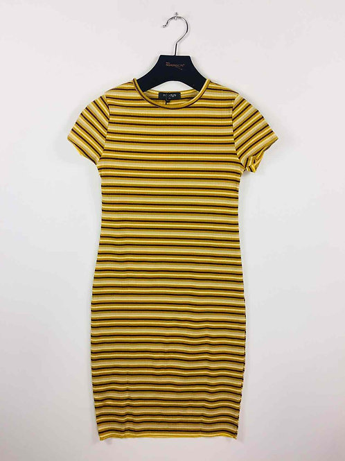 Stripped Slim Dress
