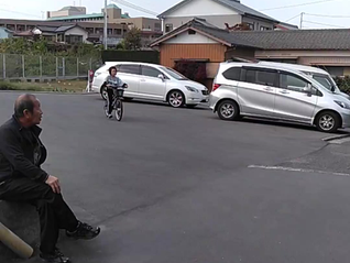 大盛況『親子自転車教室』