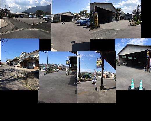 約20台収容の駐車スペースで試乗可能。雨天OKの屋根付きスペースも有り