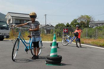 自転車の乗り方1