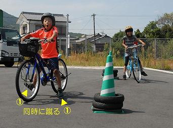 自転車の乗り方3