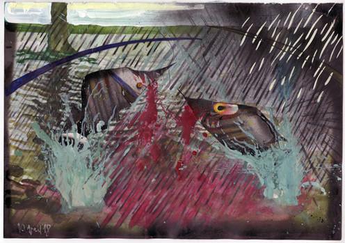Panicked Piranhas, 2018