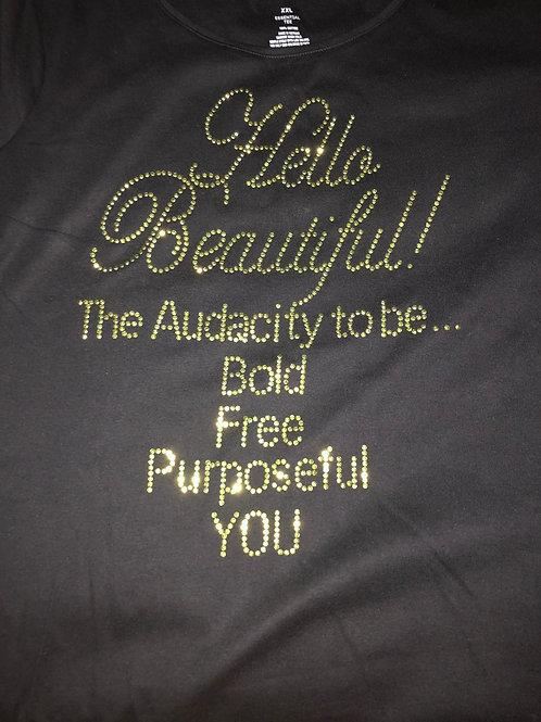 Hello, Beautiful t-shirt