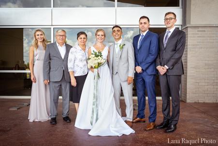 Large Family Wedding Portrait