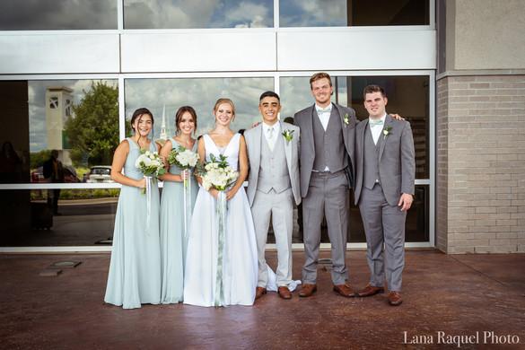 Seafoam-Green-Wedding-Party