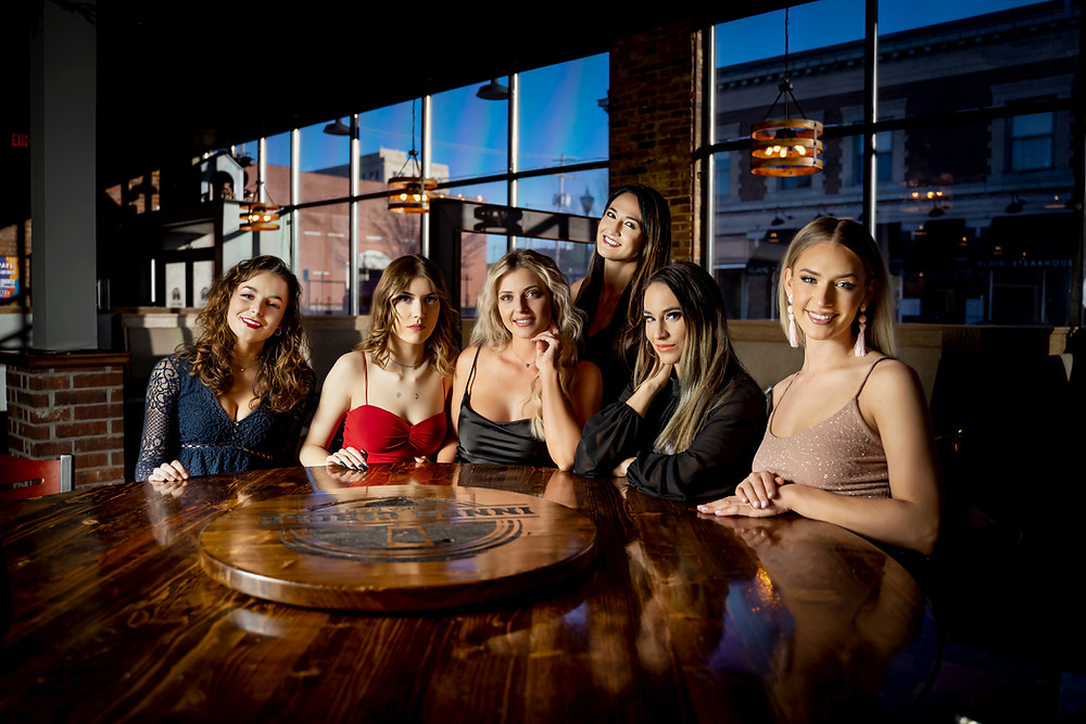 Gorgeous Models at Vodka Bar