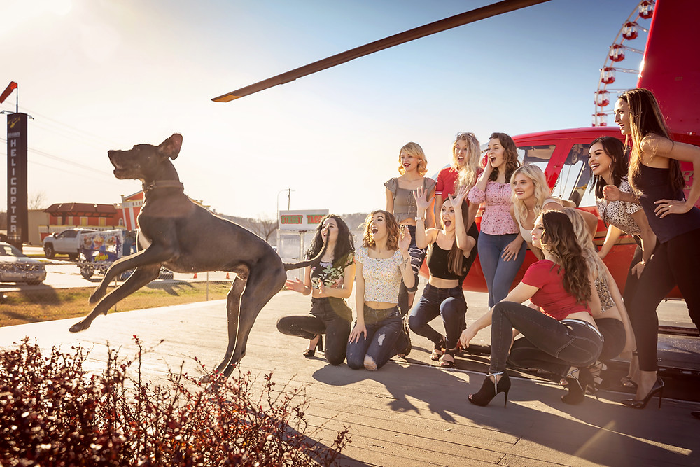 Model Agency at Branson Helicopter Tours