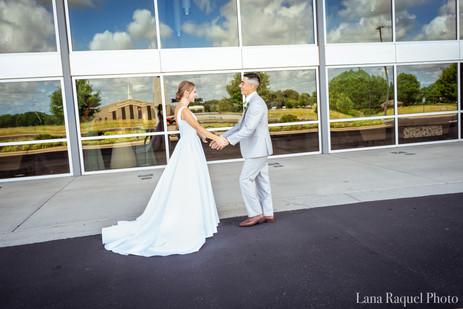 First Look Missouri Wedding Photographer