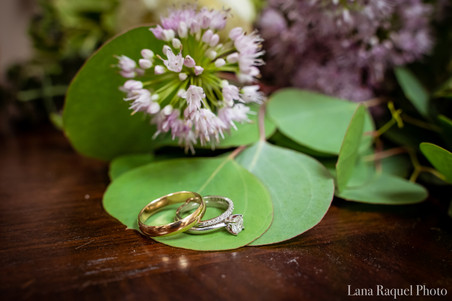 Wedding Rings on Missouri Flowers