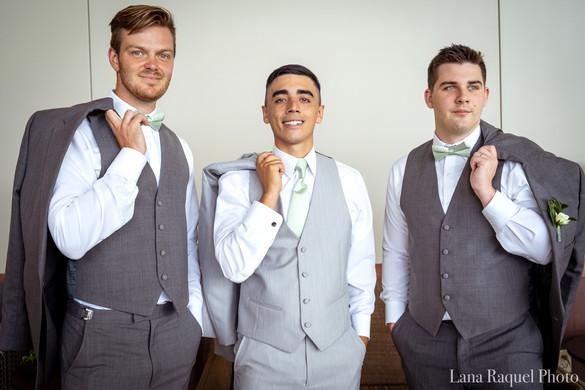Three-Groomsmen-Wedding-Day