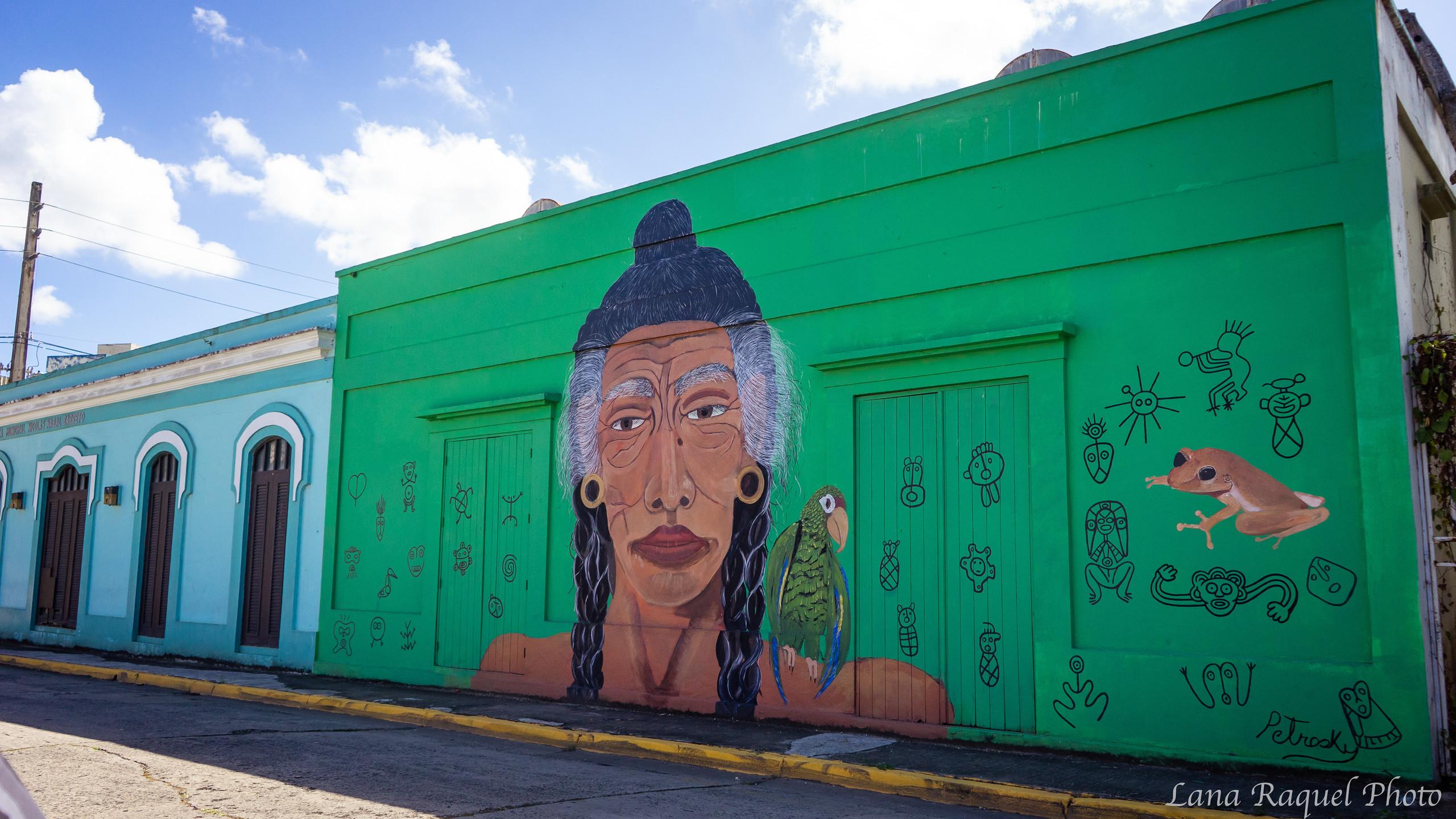 Grafitti Art in Arecibo Puerto Rico