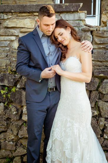 Bride-Leans-on-Groom-in-Branson