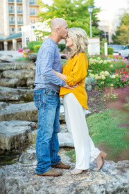 A Husband Kisses his Wife's Head