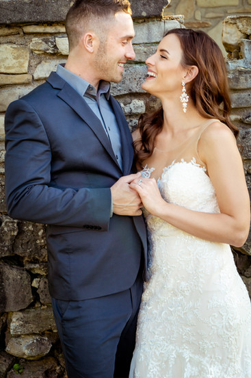 Bride-Smiling-at-Groom