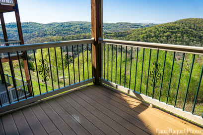 View of the Ozarks from a Balcony