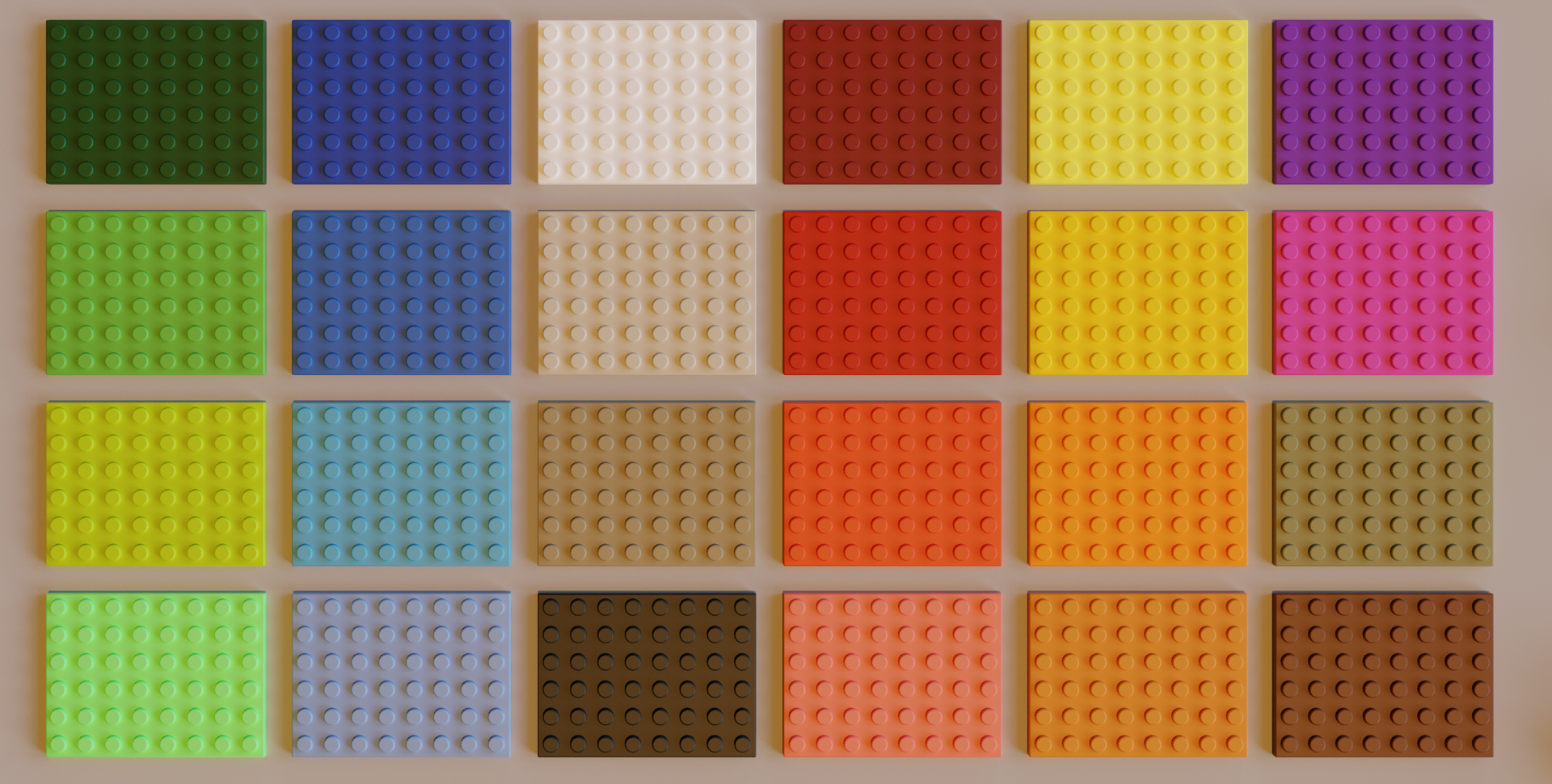 Lego Bricks Colors