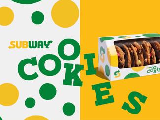 Subway | Cookies Branding