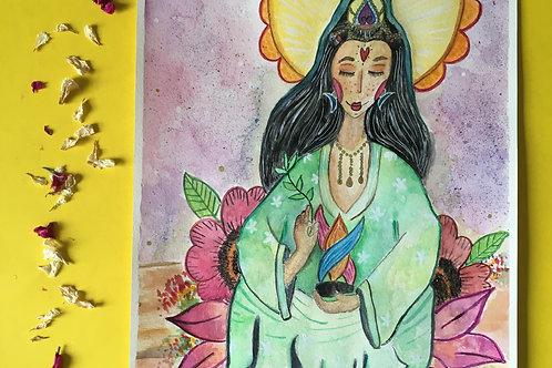 Kwan Yin, Deusa da Compaixão.
