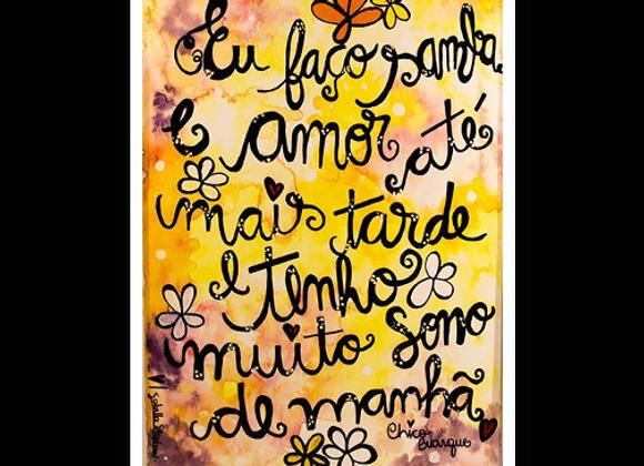 Samba e Amor, de Chico.