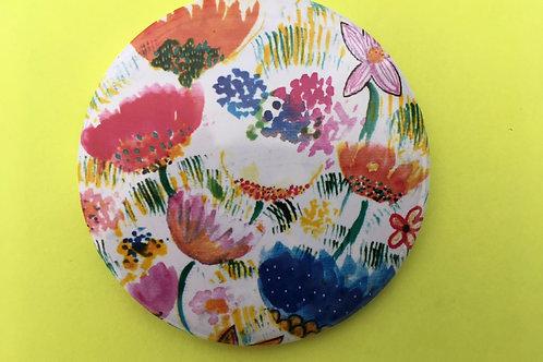 Espelhinho - Bouquet de flores e cores.