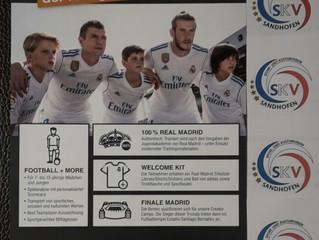 Die Fussball Schule Real Madrid trainiert                                      vom 03.-07.September