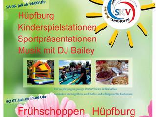 Sommerfest des SKV Sandhofen