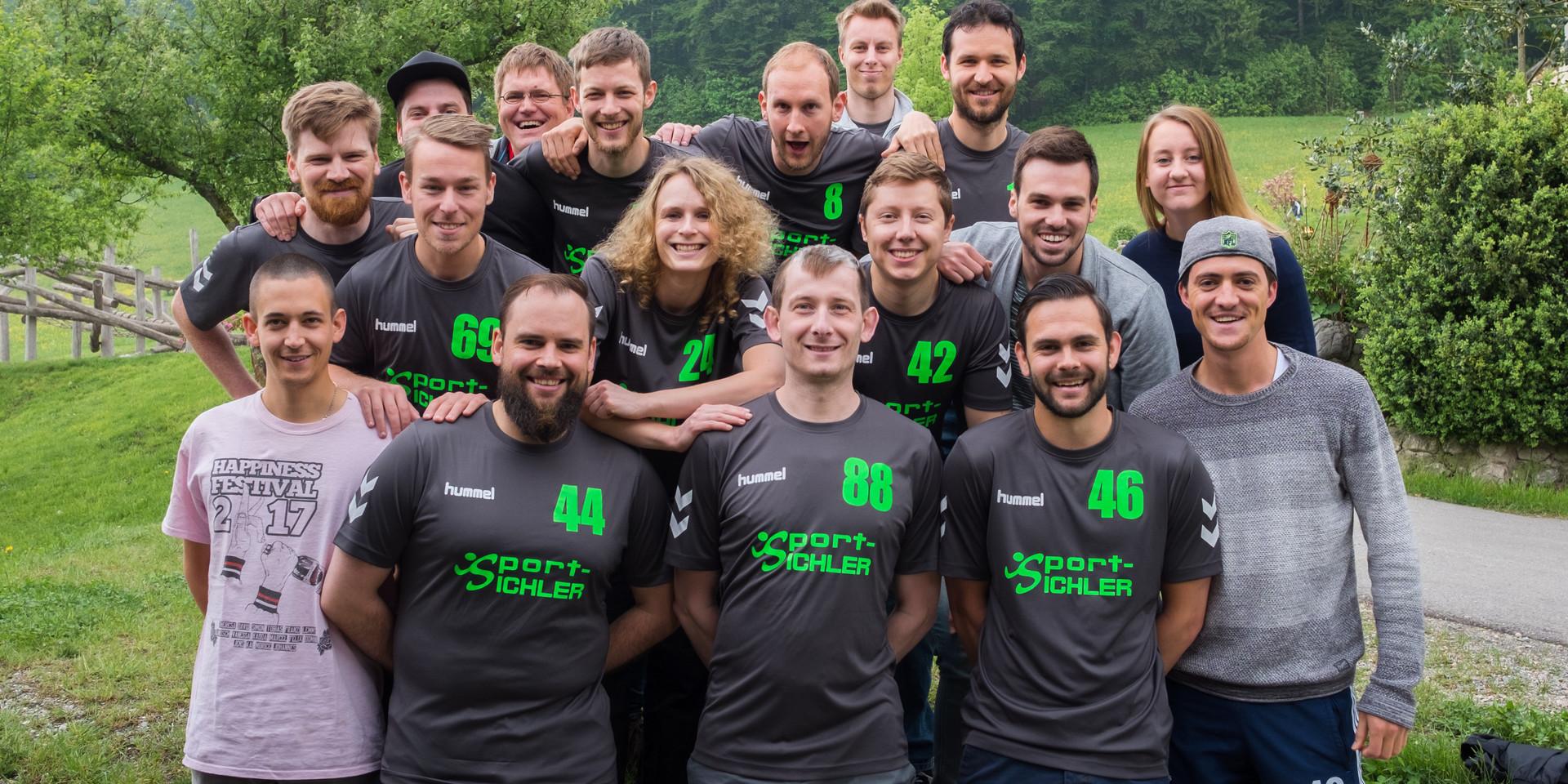 Gruppenfoto Süddeutsche Meisterschaft 2017/2018