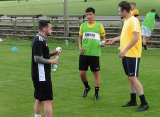SKV-Fußballer starten langsam in das Mannschafts-Training