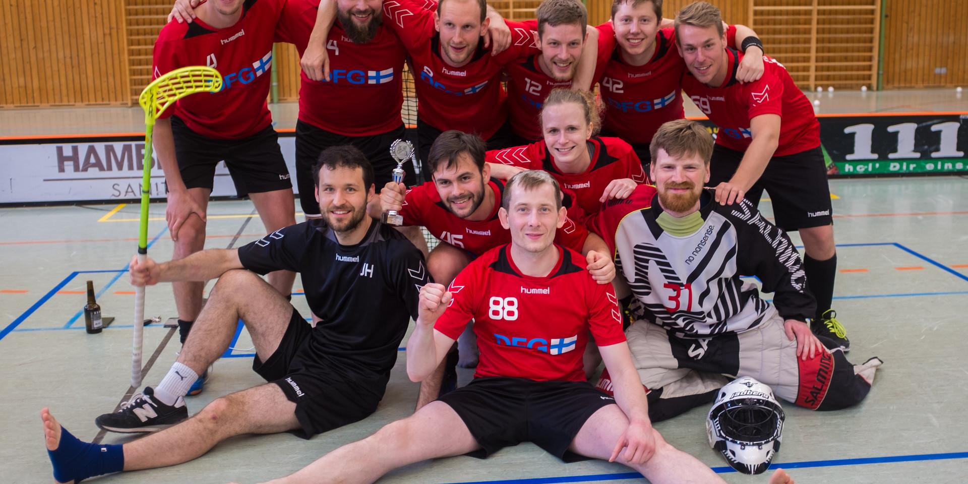Teamfoto Süddeutsche Meisterschaft 2017/2018