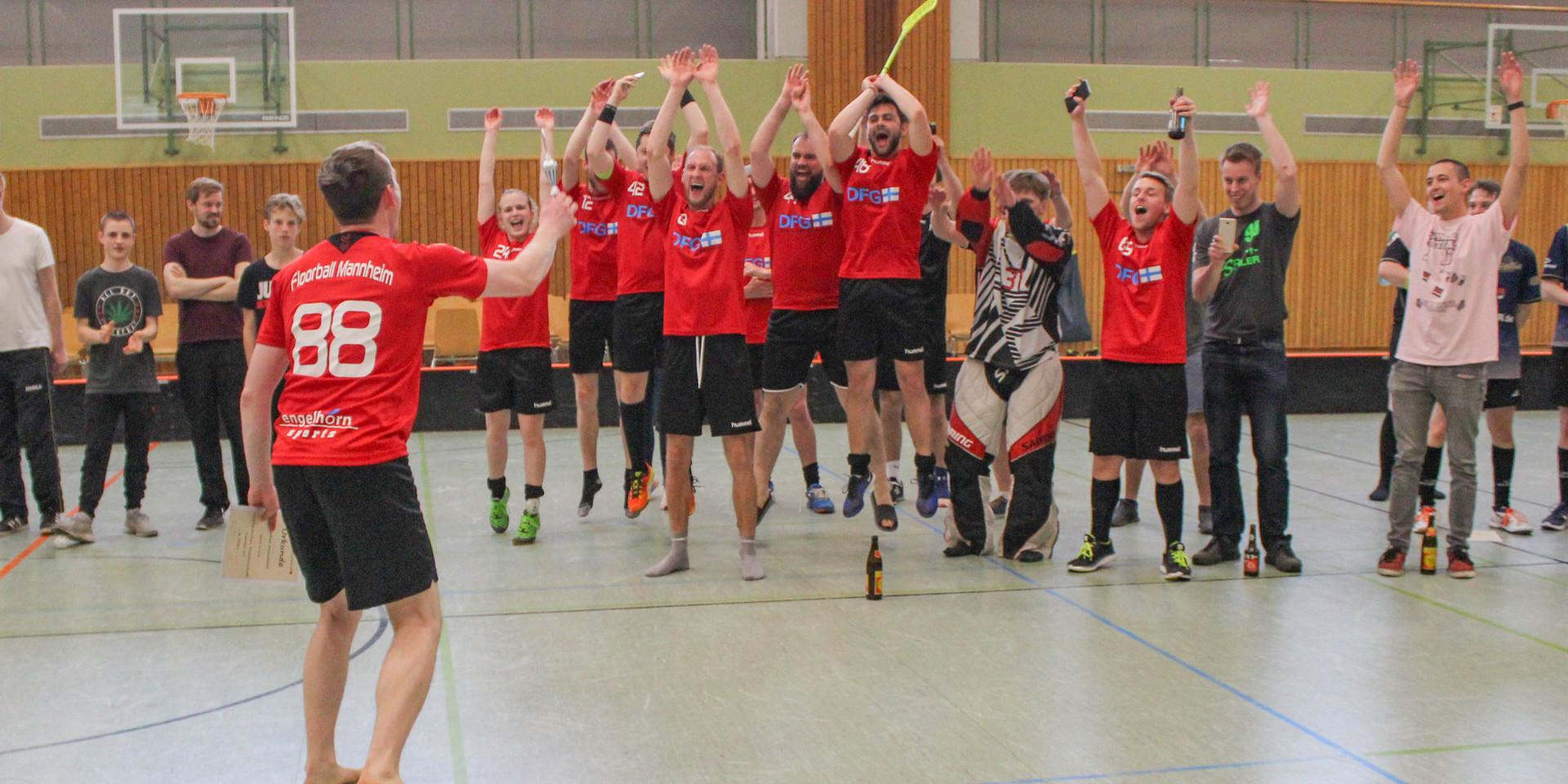 Jubel Süddeutsche Meisterschaft 2017/2018