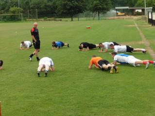 Trainingsauftakt der SKV Fußballer