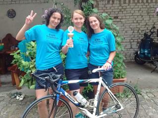 2. Platz beim Triathlon Lampertheim