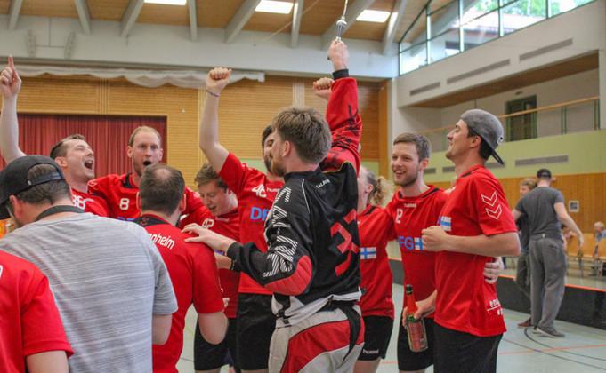 Teamjubel Süddeutsche Meisterschaft 2017/2018
