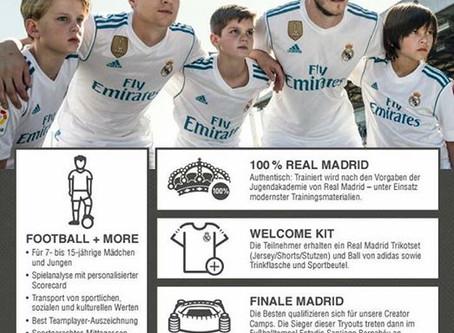 Die Fussballschule Real Madrid kommt wieder nach Sandhofen
