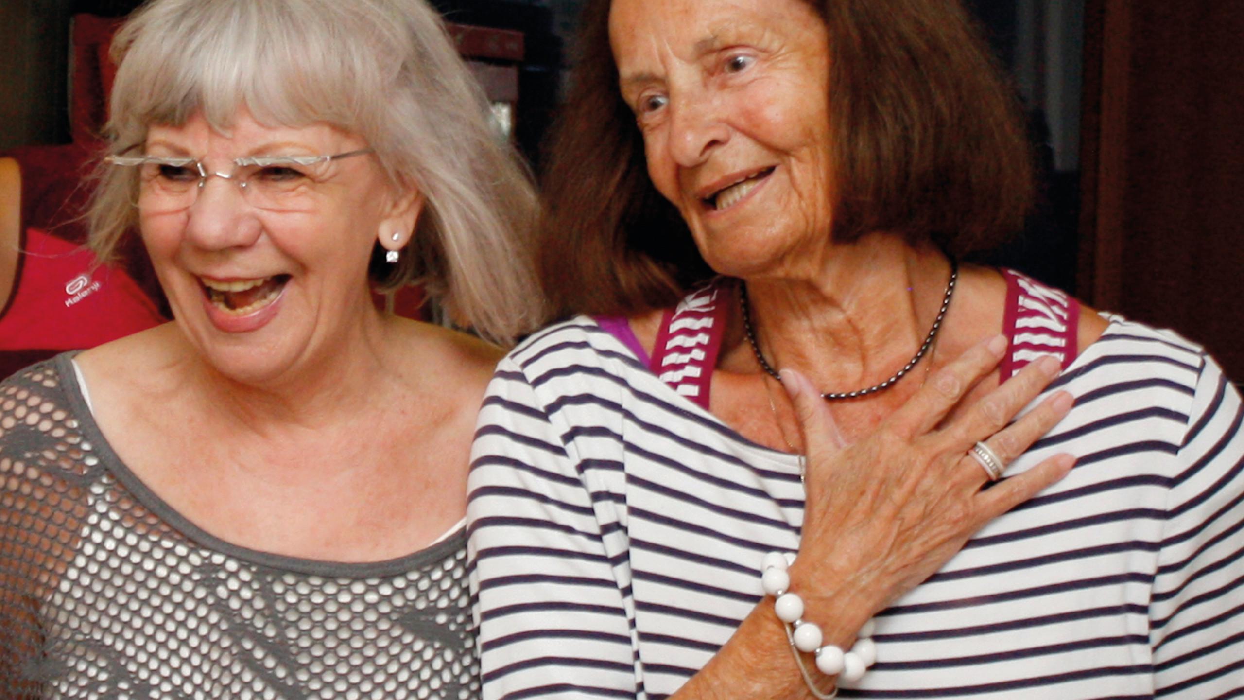 Ute Fenzel und Gisela Wismann