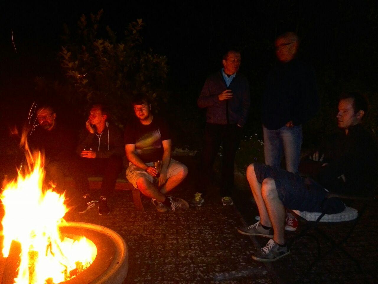 Grillfest bei Harald Zinser