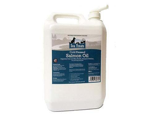 Cold Pressed Salmon Oil 5 ltr