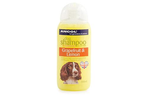 Ancol Grapefruit & Lemon Dog Shampoo