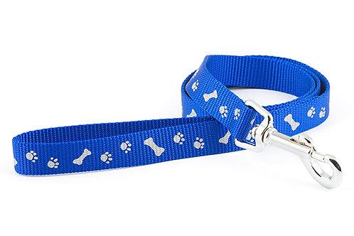 Ancol Paw & Bone Lead Blue