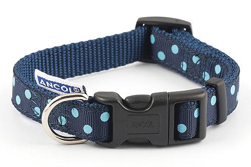 Ancol Vintage Polka Dot Dog Collar