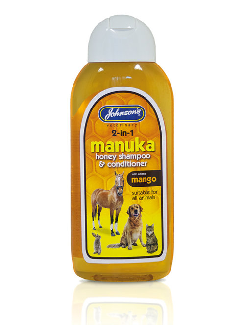 Johnson's 2 in 1 Manuka Honey Shampoo 200ml