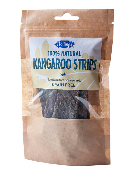 Holling's Natural Kangaroo Strips Dog treats